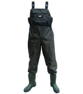 Wildfish Chest Fishing Waders with Integrated Boot